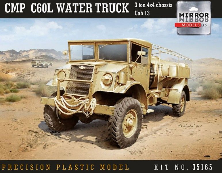 MM35165 CMP C60L Chevy water Truck